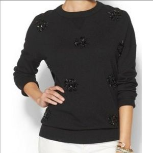 Kate spade Las Vegas black beaded sweater